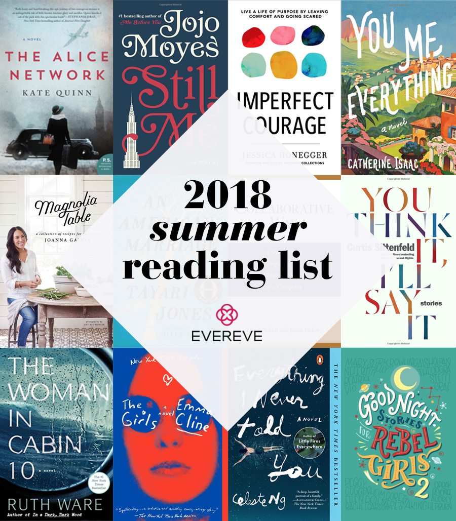 2018 summer reading list by evereve