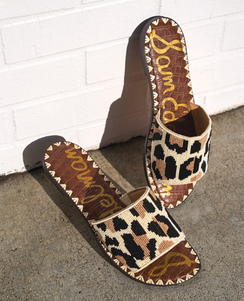 what to wear for summer, leopard sandals