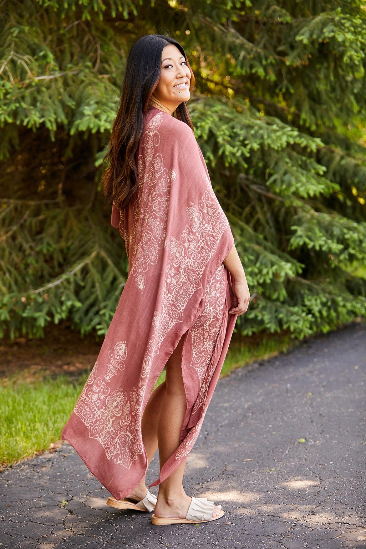 kimono and shorts for summer