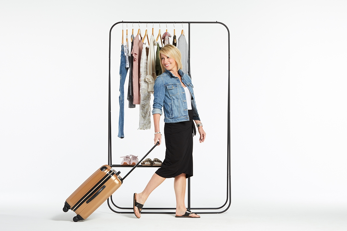 what to wear for summer vacation, how to pack for a trip to the city