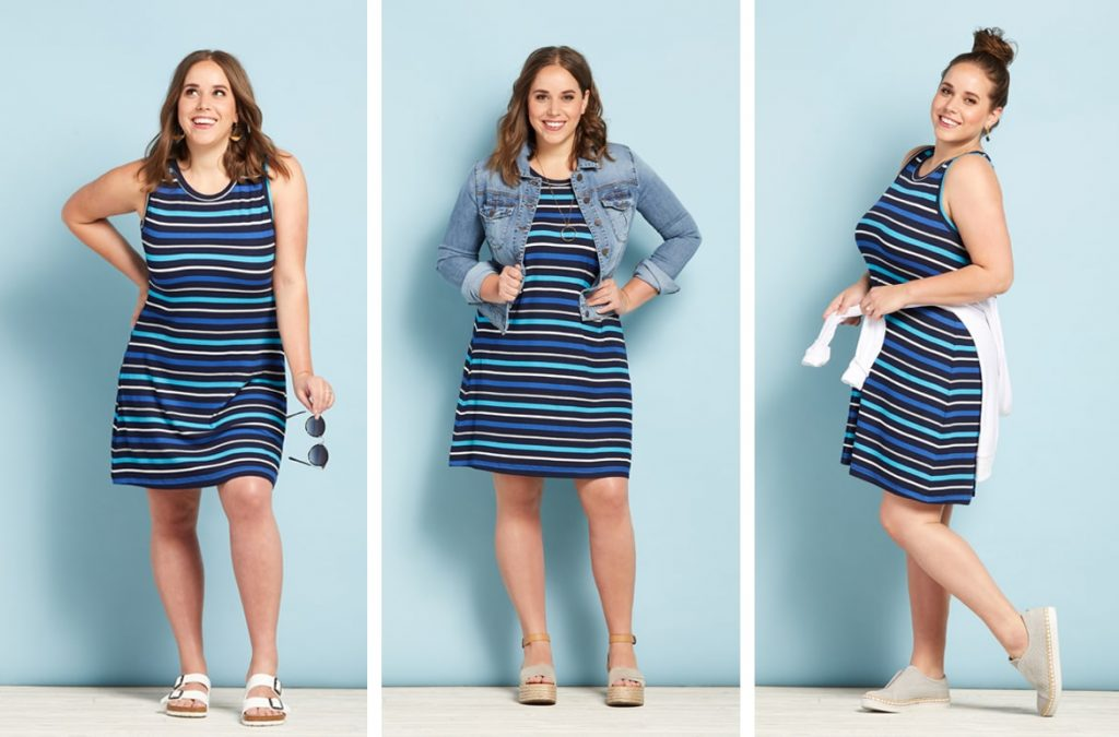 striped dress, the best dresses for spring