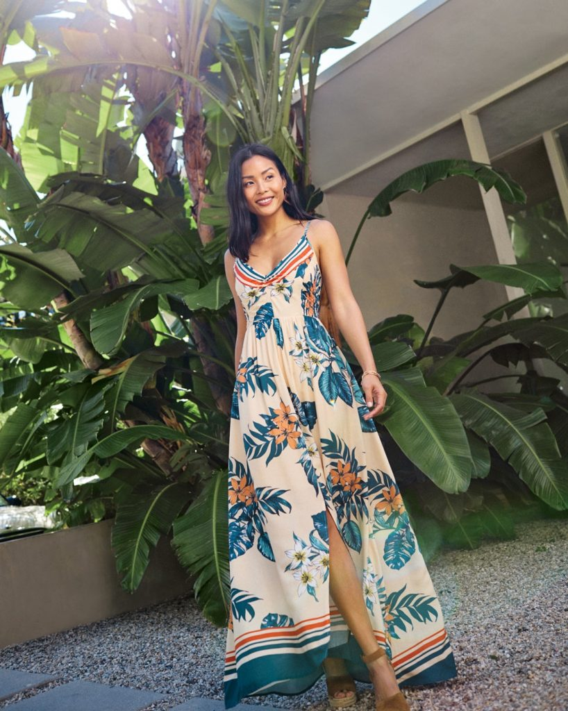 what to wear for summer, summer maxi dress